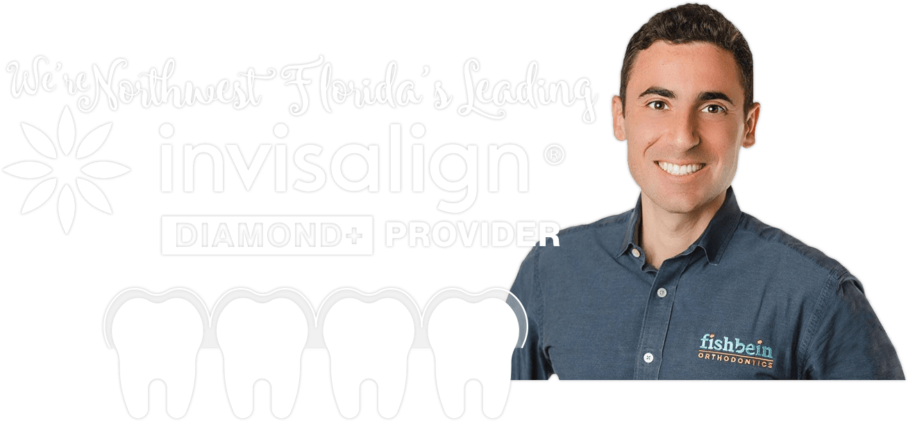 Dr. Fishbein smiling with Invisalign Diamond Plus provider distinction