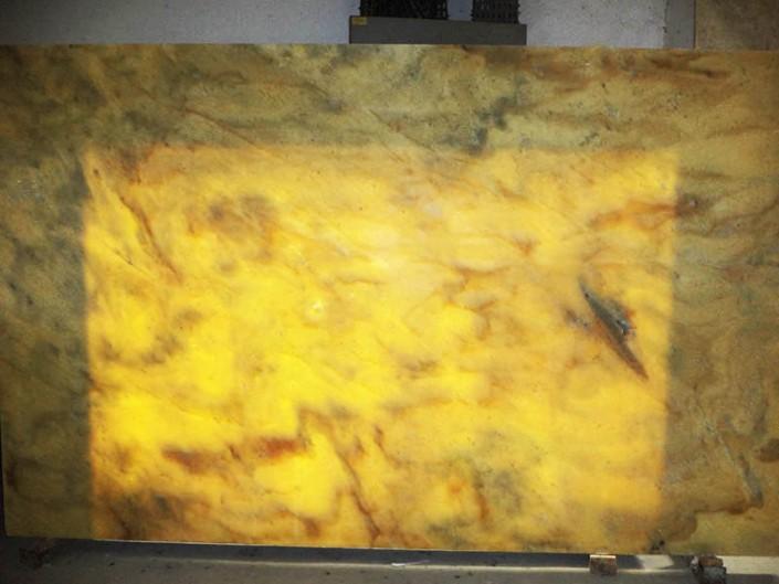 Translucent Gold Marble Emerald Coast Fabrication