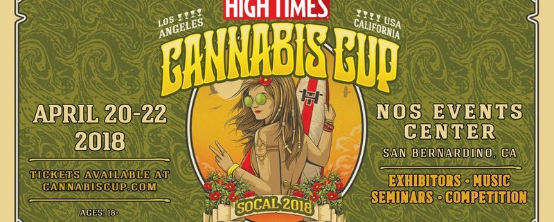 Image result for High Times  Cannabis Cup April 2018