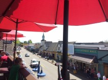 View from lunch in Poulsbo.
