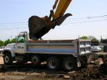 Filling Dump Truck