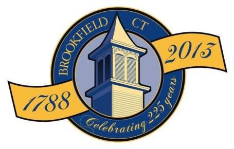Brookfield CT anniversary logo