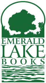 Emerald Lake Books vertical logo