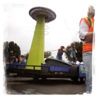 Yikes, a UFO!