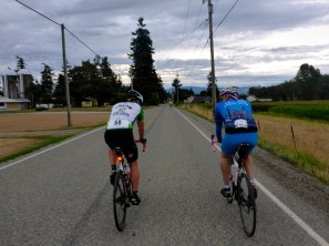 We pacelined with this guy for a great stretch on Day 1. Would have again on Day 2. But a photo stop beckoned ...