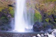 Vince Ferguson - Elowah Falls Abstract - Digital Image