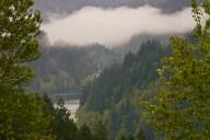 C. Vincent Ferguson - Clackamas River Valley - Digital Image