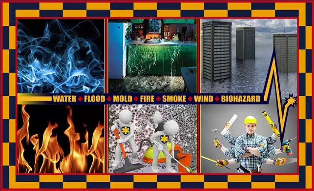 property damage restoration services water flood mold fire smoke wind and biohazard