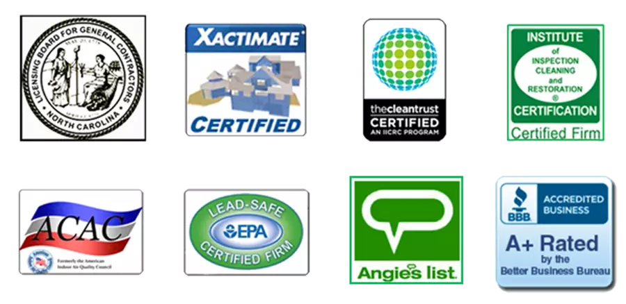 EMERG+NC Certified Insurance Claim Contractor