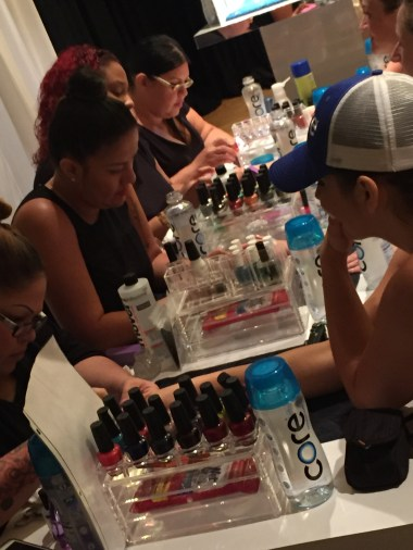 Manicures courtesy of Core