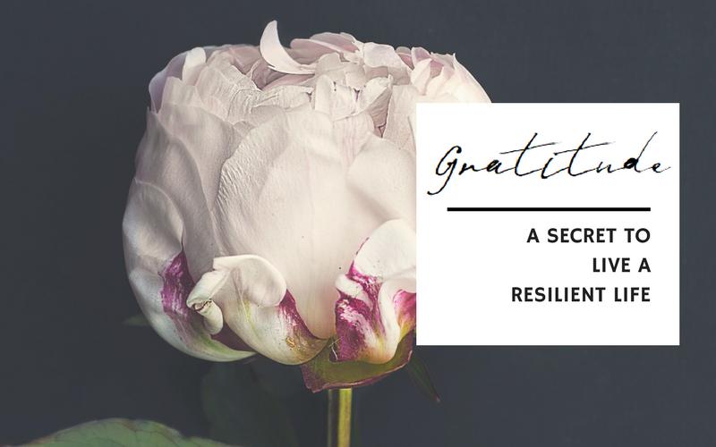 Gratitude: A secret to live a resilient life | www.EmergeAndBloom.com