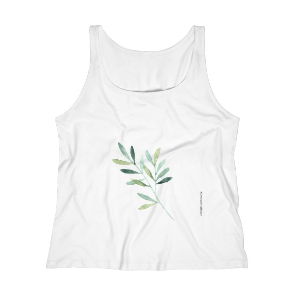 May you find inspiration every day to be a soul gardener. The modern, relaxed fit and round neckline make this tank a must-have to go with your yoga pants or with your favorite jeans to remind you to be a soul gardener