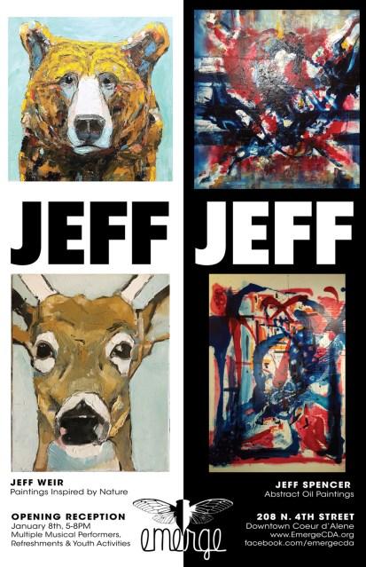 Jeff Jeff Show Poster
