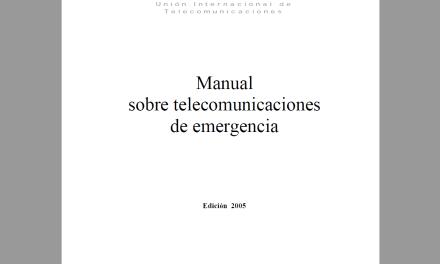 Telecomunicaciones de emergencia (2005) ITU