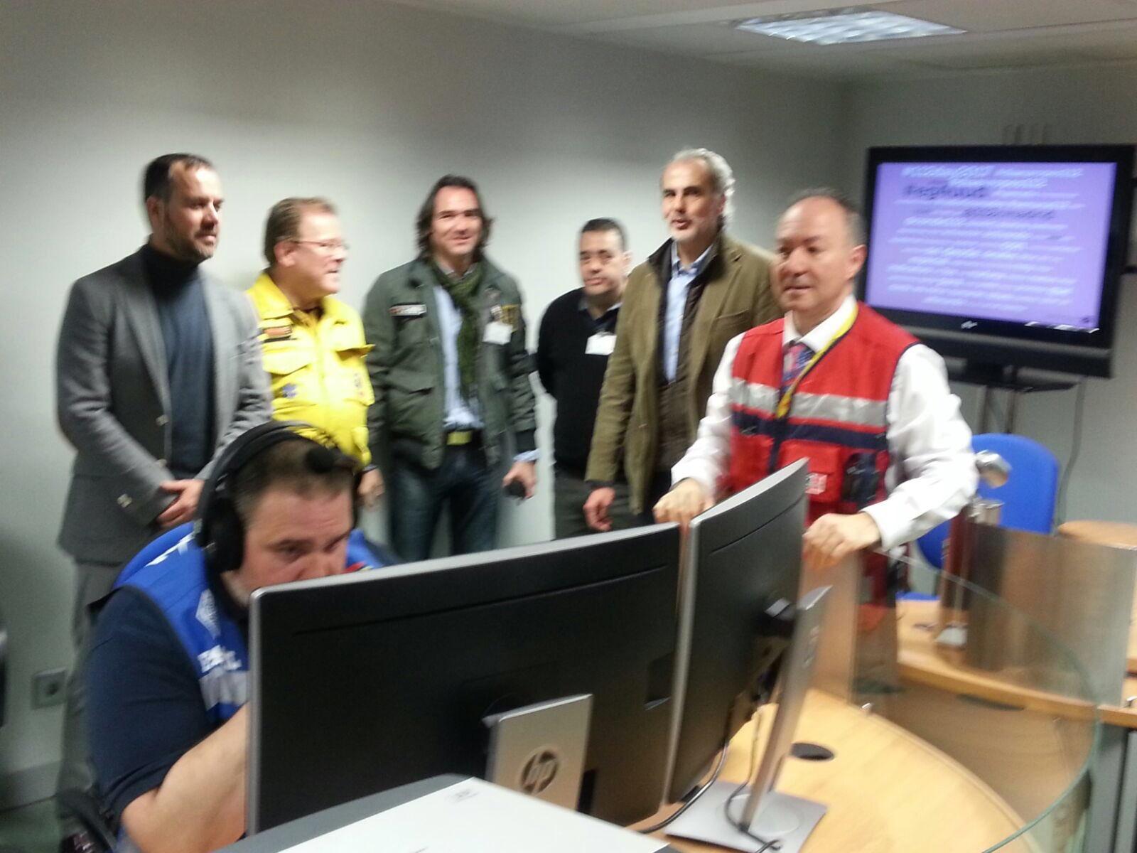 EMCOM en el 112 de Madrid
