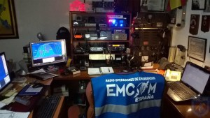 Ejercicio de comunicaciones EMCOM España