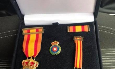 EA9CD medalla honorífica y a la constancia en el voluntariado de Protección Civil