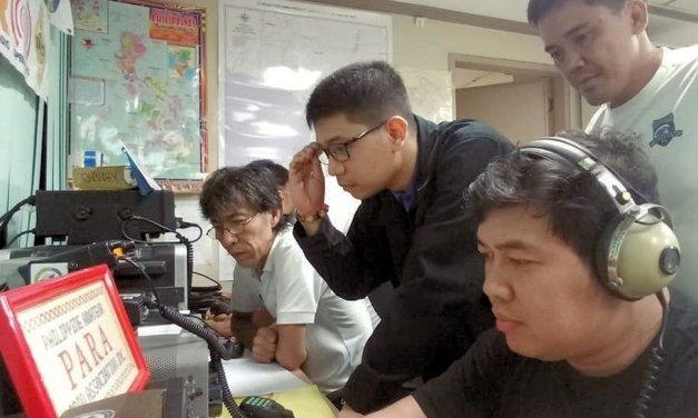 La Asociación Filipina de Radioaficionados Activa HERO para el Tifón Mangkhut