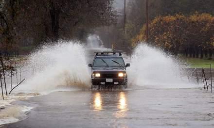 Radioaficionados en las inundaciones de California