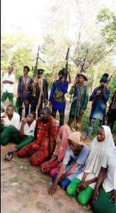 Kidnapped Students in Bandits' Den