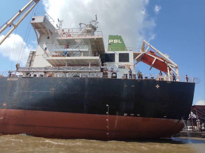 Brazil Ship: MV CHAYANEE NAREE