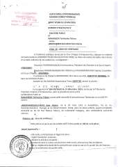 RANARISON Tsilavo Arrêt de la cour d'appel d'Antananarivo