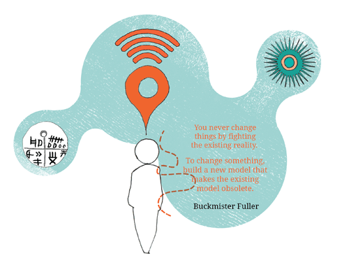 Buckminster Fuller quote Chapter 12