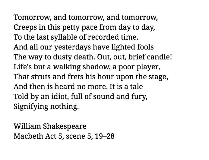William Shakespeare Macbeth