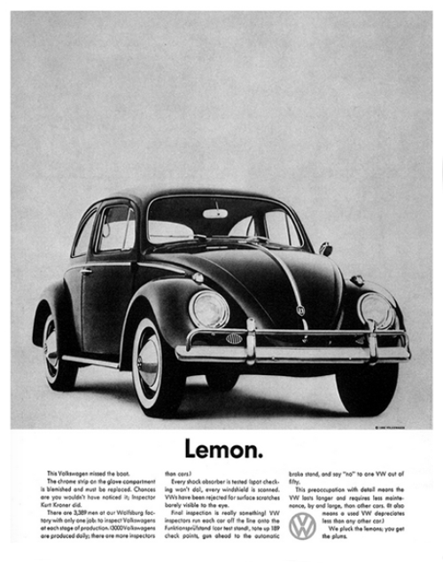 Bill Bernbach Lemon