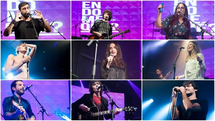 Concierto Benéfico Endomequé, con Virginia Díaz, Isma Romero, Rubén Pozo, Penny Necklace, Fizzy Soup, Rayden, Kitai, Full y Second