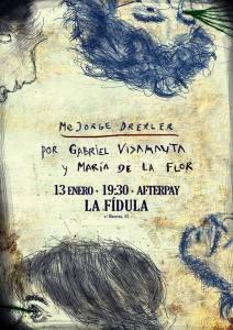 GABRIEL VIDANAUTA Y MARÍA DE LA FLOR @ La Fídula Espectáculos