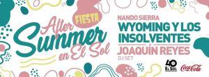 WYOMING & LOS INSOLVENTES + NANDO SIERRA @ Sala El Sol