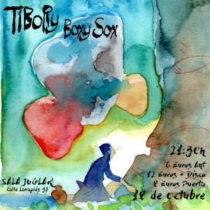 LA TIBORY @ Sala Juglar