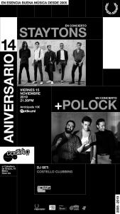STAYTONS+POLOCK @ Costello Club