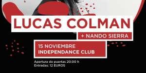 LUCAS COLMAN @ Independance Live