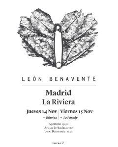 LEON BENAVENTE @ La Riviera