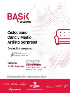 CICLOCÉANO+CAÑA Y MEDIA+ SORPRESA (BASIK SESSIONS) @ Impact Hub Piamonte