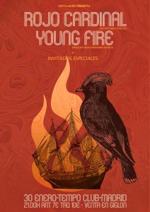 ROJO CARDINAL + YOUNG FIRE @ Tempo Club