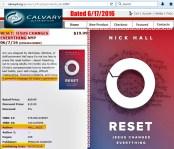 CalDist sells Reset by Nick Hall 6.17.16