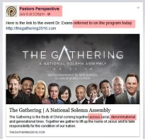 KWVE.PP promoting 'The Gathering' 7.7