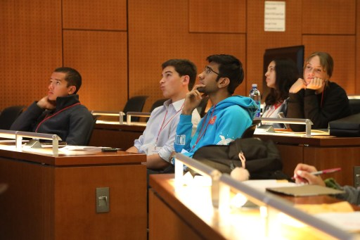 Attendees in Auditorium 3