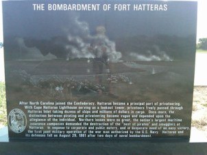 Bombardment of Ft. Hatteras