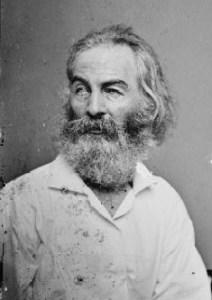 Walt Whitman, circa 1860
