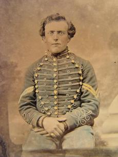 An unidentified Soldier from the 3rd New Jersey Cavalry. Photo courtesy of the Library of Congress