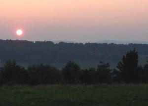 Sunset over Monocacy