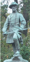 Stephen Dill Lee Statue Vicksburg(courtesy of Vicksburg NMP)