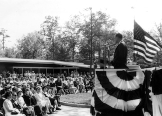 Chancellorsville Visitor Center dedication ceremony.2767