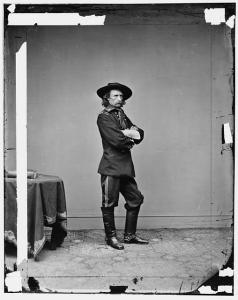 George Custer's assignment on the morning of June 11 was to assail the Confederate rear. He would end up getting more than he bargained for. Courtesy of the Library of Congress.