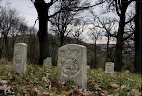 Gravesite-fall