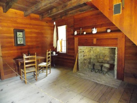 This room is the reconstructed model of the room where William Sherman and Joseph Johnston met to discuss terms.